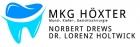 Logo Zahnarzt, Oralchirurg (Fachzahnarzt für Oralchirurgie), Mund-Kiefer-Gesichtschirurg (Facharzt für Mund-Kiefer-Gesichtschirurgie) : Norbert Drews, Gemeinschaftspraxis für Mund- Kiefer- Gesichtschirurgie im St. Ansgar Krankenhaus, Dr. Lorenz Holtwick, Norbert Drews & Partner, Höxter
